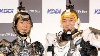 俳優の松平健が19日、都内でKDDI『Smart TV Box』の新CM公開収録を行っ...