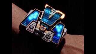 Power Rangers Lightspeed Rescue - From Deep in the Shadows - Titanium Ranger Morpher Test