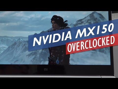Mi Notebook Air 13 2017 CPU Undervolting & MX150 Overclocking - YouTube