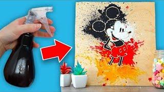 10 Stencil Crafts and Fun Art Hacks