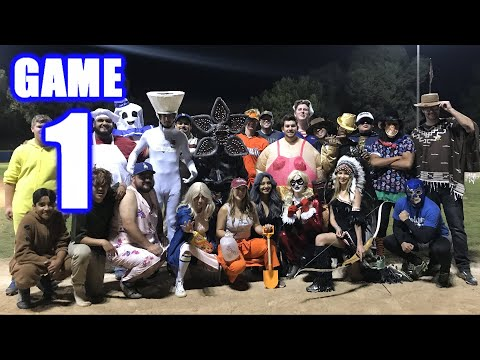 HALLOWEEN SPECIAL! | Offseason Softball Series | Game 1