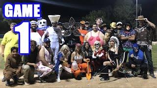 HALLOWEEN SPECIAL! | Offseason Softball Series | Game 1