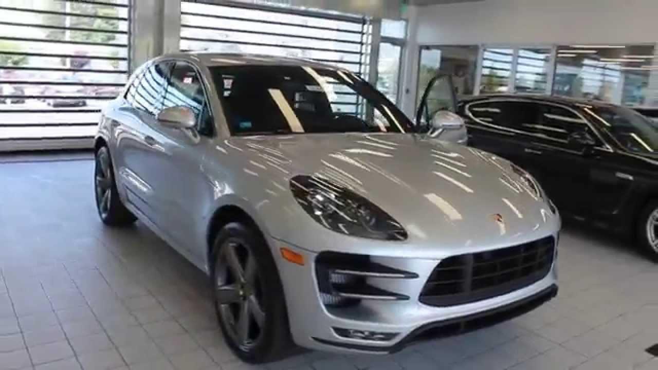 2015 Porsche Macan Rhodium Silver Metallic STOCK