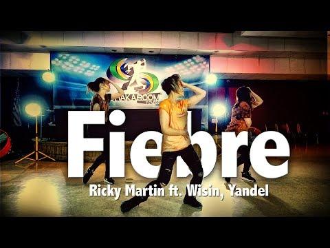 Fiebre - Ricky Martin ft. Wisin, Yandel | Dance | Chakaboom Fitness l Coreografia not Zumba