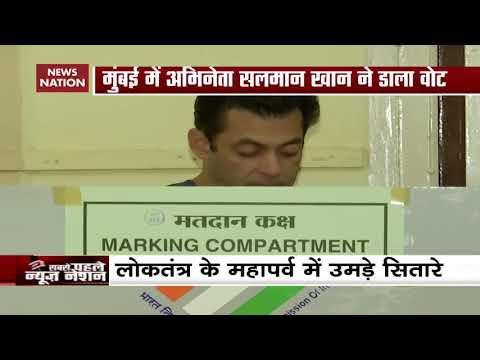 Salman Khan Casts Vote For Maharashtra Assembly Elections 2019