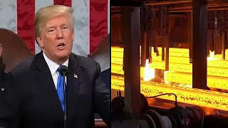 Trump tariffs could 'destroy' EU's steel industry