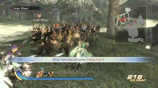 Dynasty Warriors 7 Gamespot GDC English Gameplay Trailer (PS3)