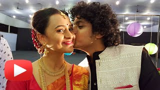 Parna Pethe & Alok Rajwade Get Married | Wedding Pictures & Sangeet Video | Marathi Entertainment