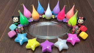 Mixing Makeup and Glitter into Store Bought Slime !! Relaxing Satisfying Slime Videos #5