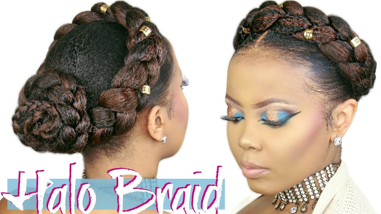 haircut tutorial for hair how to faux halo braid tutorial crown braid w 4618