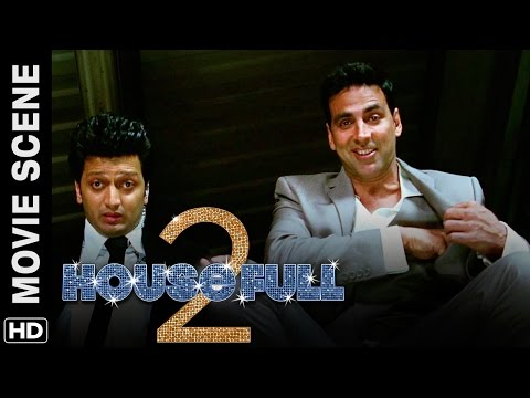 Akshay and Riteish meet Fifi | Housefull 2 | Movie Scene