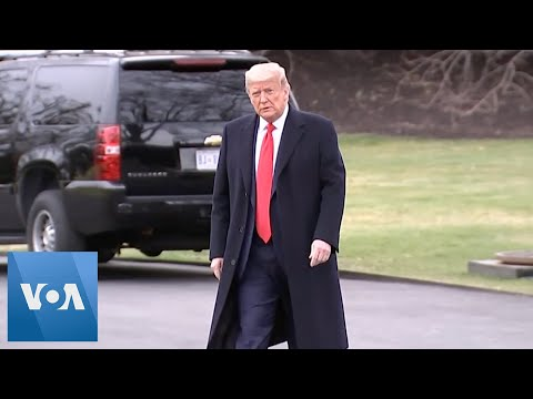 US President Trump Departs for Pennsylvania Town Hall
