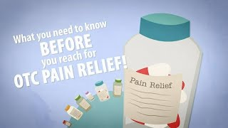 OTC Pain Medication: What You Need to Know/with Captions