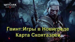 Гвинт: Игры в Новиграде. Карта Скоятаэлей. The Witcher 3 Wild Hunt