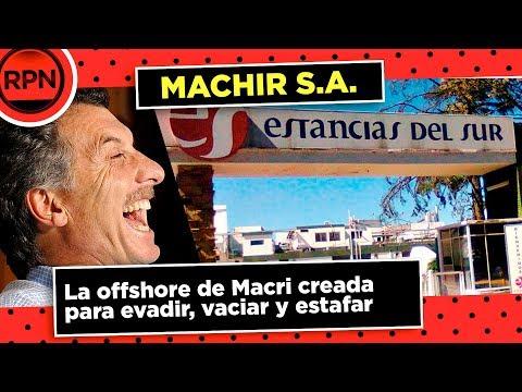 Machir SA, la offshore de Macri para estafar y robar
