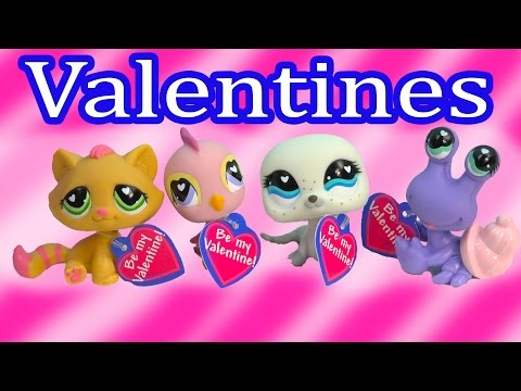Littlest Pet Shop Bobbleheads Valentines Day Playset LPS Box Set Kitty Bird Seal Crab Review