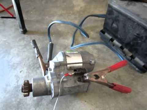 How to Diagnose and repair Starter Motor for Toyota Rav4 - YouTube