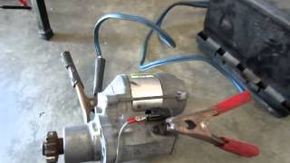 How to Diagnose and repair Starter Motor for Toyota Rav4