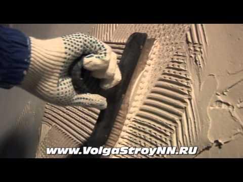 видео: Штукатурка стен своими руками, выравнивание стены.