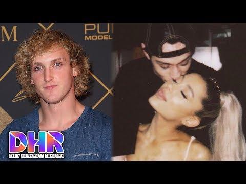 Logan Paul FIGHTS KSI at Press Conference - Ariana Grande & Pete Davidson Get MORE Tattoos (DHR)