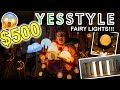 $500 YESSTYLE FAIRY LIGHT HAUL!!! Christmas Gift Ideas from YesStyle 2018!!!
