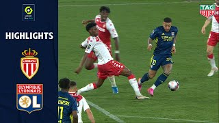 AS MONACO - OLYMPIQUE LYONNAIS (2 - 3) - Highlights - (ASM - OL) / 2020-2021