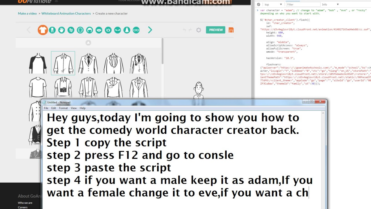 how to get comedy world back on vyond