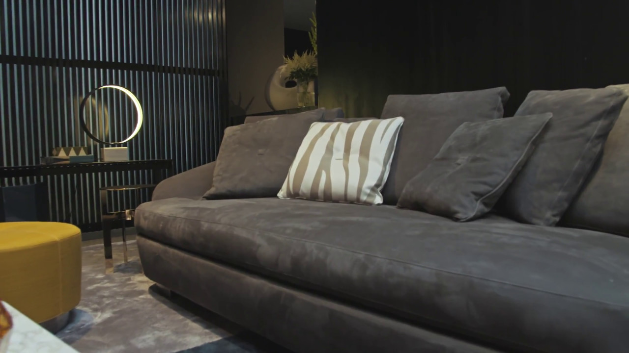 Minotti showroom youtube