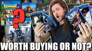 10 PS4 Games That Are Worth The Price & 5 That ARE NOT!