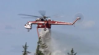 Firefighters making some progress on Canada wildfire