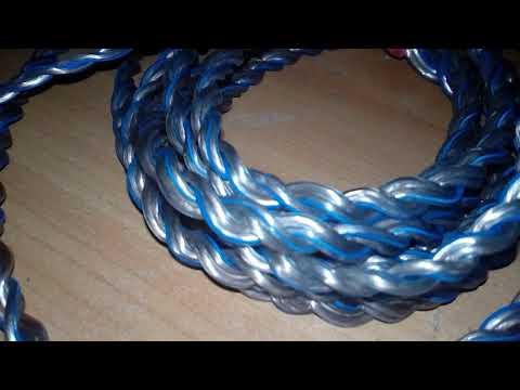 Акустический кабель своими руками.