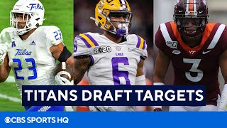 Who Will The Titans Target in The 2021 NFL Draft? | CBS Sports HQ