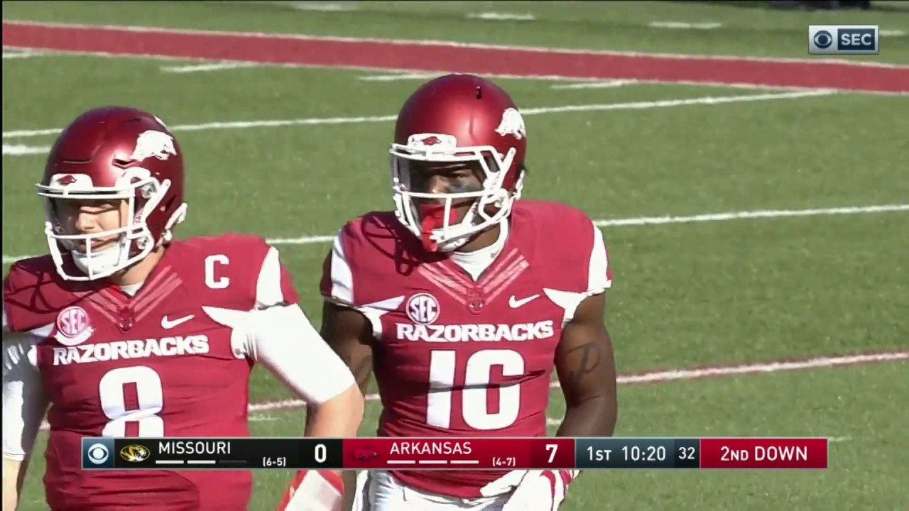 Arkansas football players miss Friday's game vs. Missouri after a ...