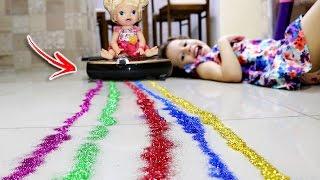 BABY ALIVE NO JISIWEI S+ Smart LIMPANDO GLITTER - Valentina