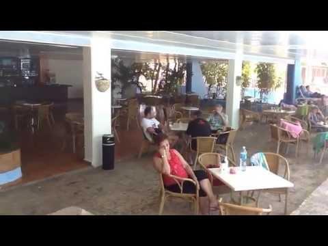 Hotel Tropicoco, Havana Cuba.                                Pool area . Area de la Piscina