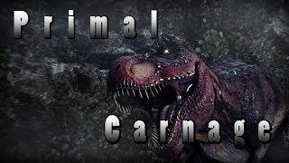 Игры про динозавров - Primal Carnage. Обзор игры про динозавров.