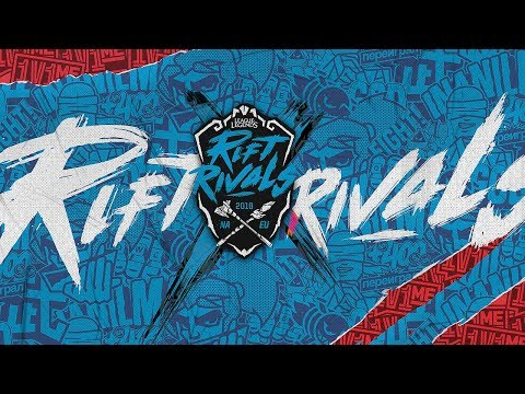 (REBROADCAST) Rift Rivals: NA x EU (2018)   Group Stage Day 1