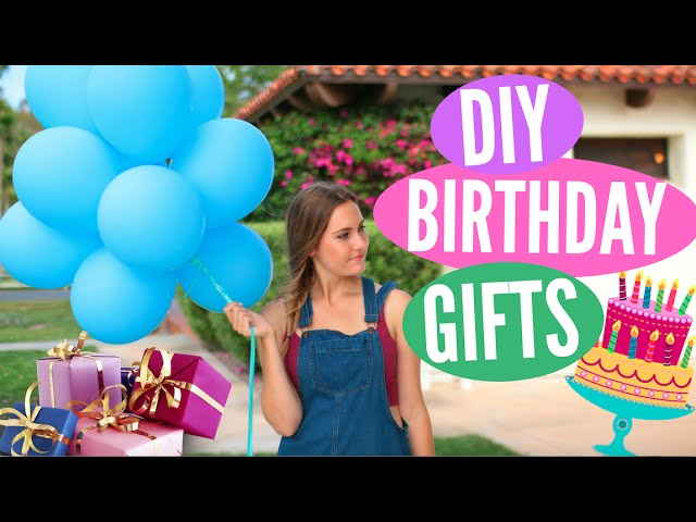 Diy Birthday Gift Ideas Easy Presents For Friends Family Primrosemakeup Youtube