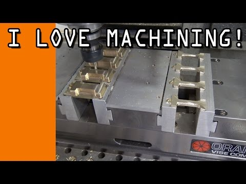 Thumbnail: Tormach Dual-Station Orange Vise Production Run! WW119