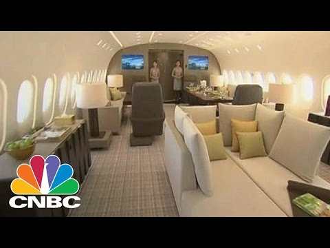 Luxury Charter Jet Costs $72,500 An Hour For A Ride: Bottom Line | CNBC