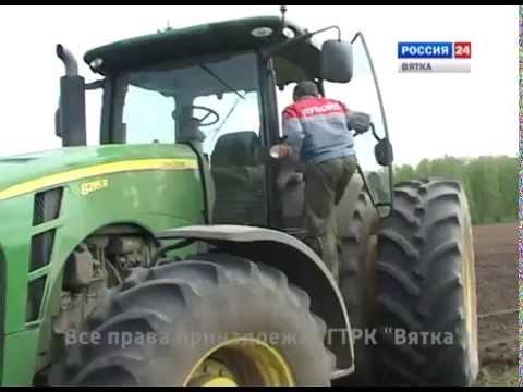 Дороги деревенские 24 мая 2014 г. (ГТРК Вятка)