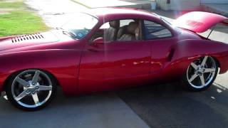 supercharged V8 Ghia