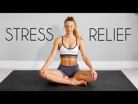20 min Full Body STRETCH/YOGA for STRESS & ANXIETY Relief