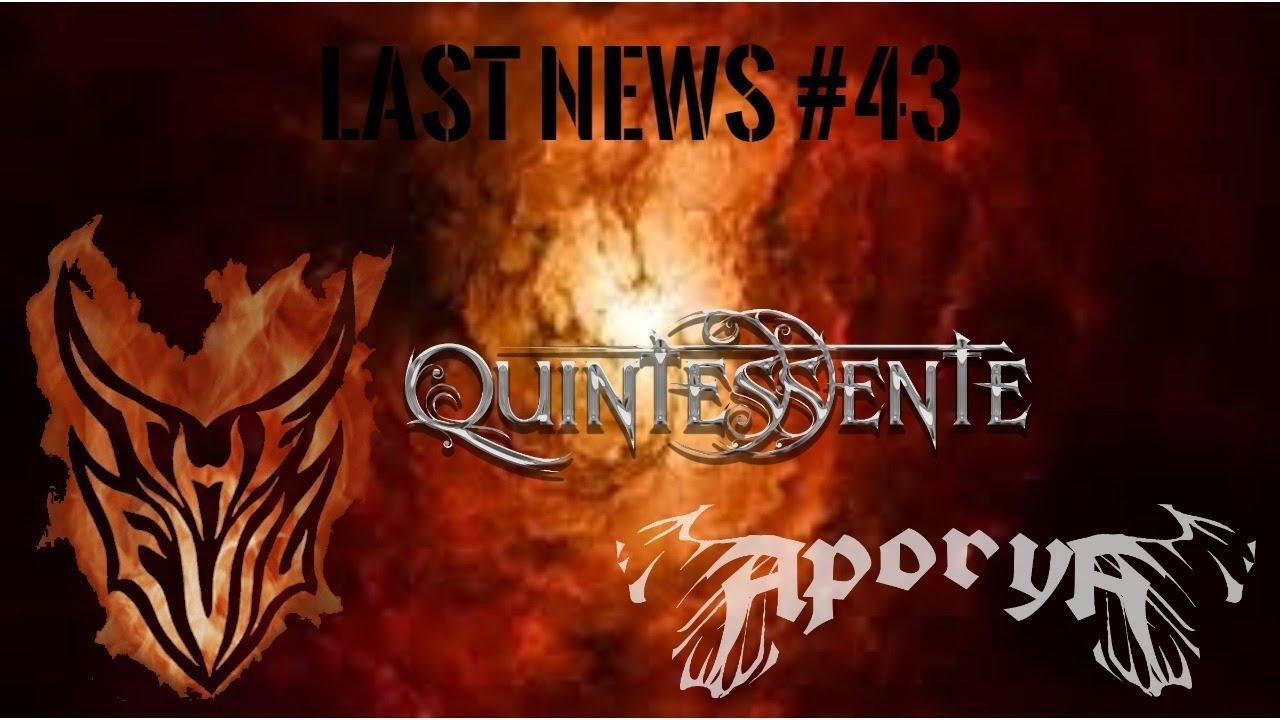 Programa Last News 43 - The Evil - Quintessente - Aporya