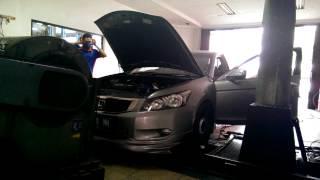 Dyno tuning Turbocharged Accord 2008 CP2
