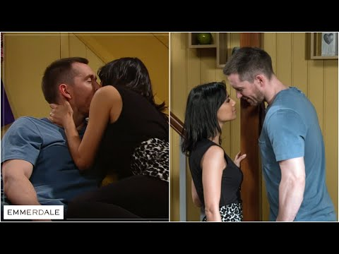 Emmerdale - Pete cheats with Priya (1/3)