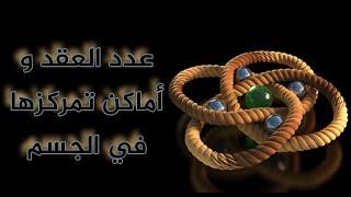 كم عدد العقد الممكنة في السحر و العين و الحسد و المس ؟ ما هي آيات تفجيرها؟