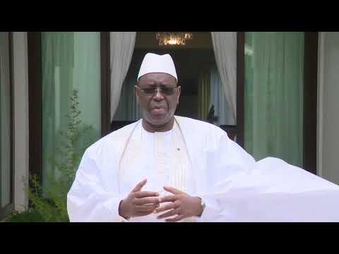 Tabaski 2020: Discours Président de la République Macky Sall