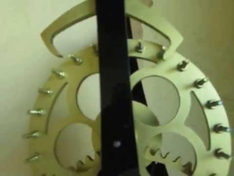 Đồng hồ bánh răng - Đồng hồ mỹ nghệ - Đồng hồ gỗ