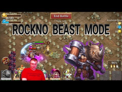 New Hero Rockno Game Play Castle Clash